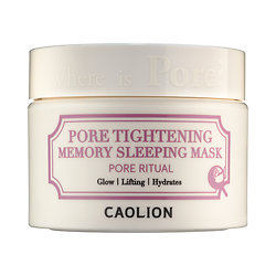 Caolion Pore Tightening Memory Sleeping Mask 1