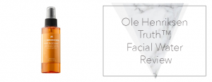 Ole Henriksen Truth™ Facial Water Review
